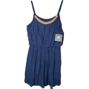 IZ BYER SZ L BEADED STRAPPY SUMMER Dress Women's L